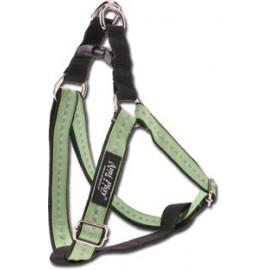 Szelki nylonowe odblaskowe 15-25cm - Zielone