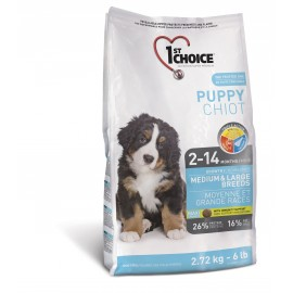 1st Choice Puppy Medium & Large Breeds 2 x 15kg