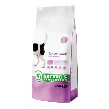 Nature's Protection Junior Lamb 7,5kg