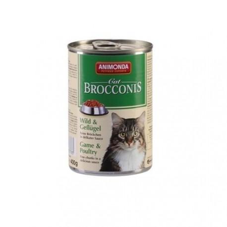 ANIMONDA BROCCONIS CAT - Dziczyzna i Drób