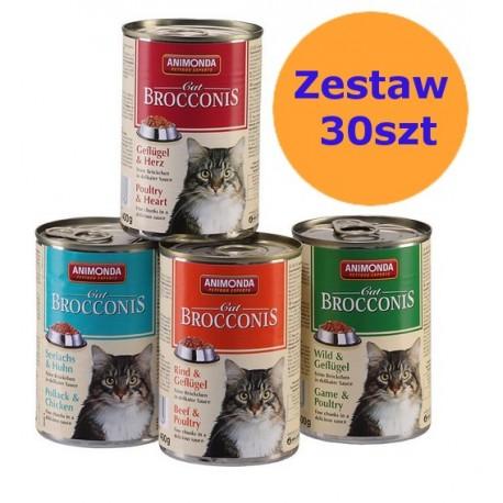 ANIMONDA BROCCONIS ZESTAW 30 x 400g