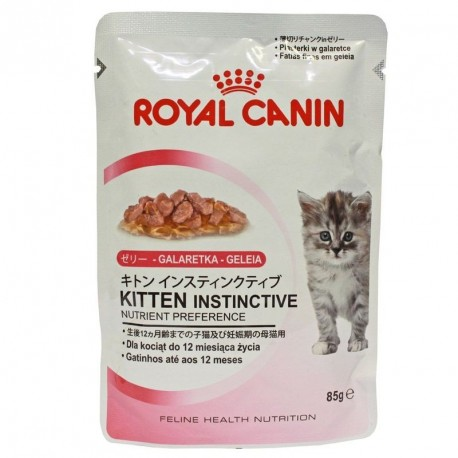royal canin kitten instinctive w galarecie 85g. Black Bedroom Furniture Sets. Home Design Ideas