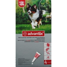 Advantix Spot-on 10 - 25kg - 4 pipety