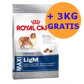 Royal Canin Maxi Light 15 + 3KG GRATIS !!!