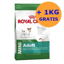 Royal Canin Mini Adult 8 + 1KG GRATIS !!!