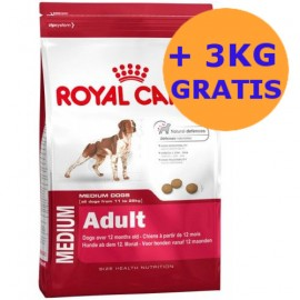 Royal Canin Medium Adult 15 + 3KG GRATIS !!!
