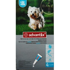 Advantix Spot-on 4 - 10kg - 1 pipeta
