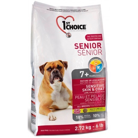 1st Choice Senior Sensitive 2 x 12kg