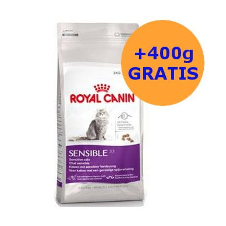 Royal Canin Sensible 400g + 400g GRATIS