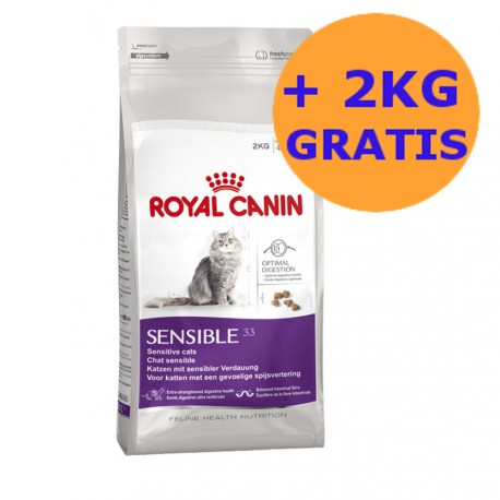 Royal Canin Sensible 10kg + 2KG GRATIS