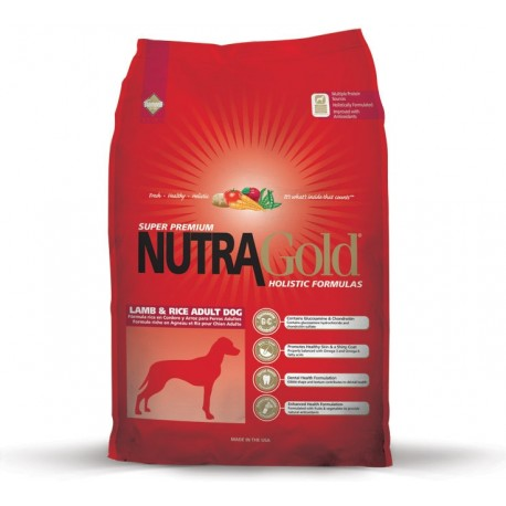 Nutra Gold Lamb Rice 15kg