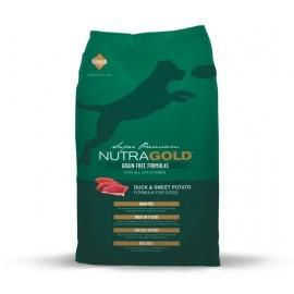 Nutra Gold Grain Free Duck Sweet Potato 15kg