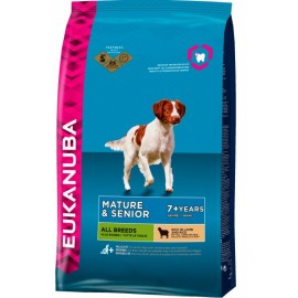 Eukanuba Mature Senior Lamb Rice 12kg