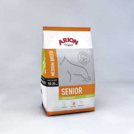Arion Original Senior Medium Breed Chicken 12kg