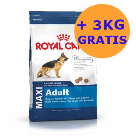 Royal Canin Maxi Adult 15 + 3KG GRATIS