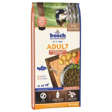 Bosch Salmon Potato 15kg