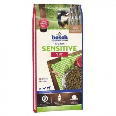 Bosch Sensitive Lamb Rice 15kg