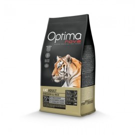 OptimaNova Adult Chicken Rice Cat 8kg