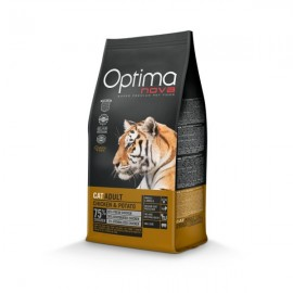OptimaNova Adult Chicken Potato Cat 0,4kg