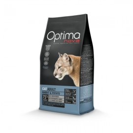 OptimaNova Adult Rabbit Potato Cat 2kg