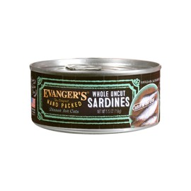 Evanger's Hand Packed Cat Sardynki 156g