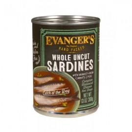 Evanger's Hand Packed Sardynki 340g