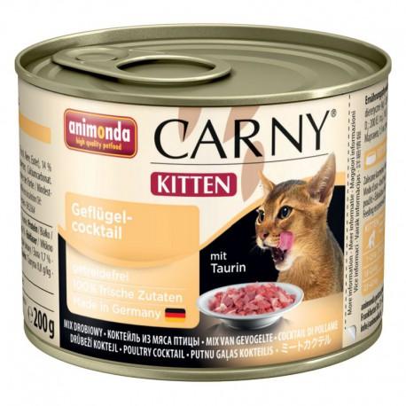 Animonda Carny Kitten Koktail Drobiowy 200g