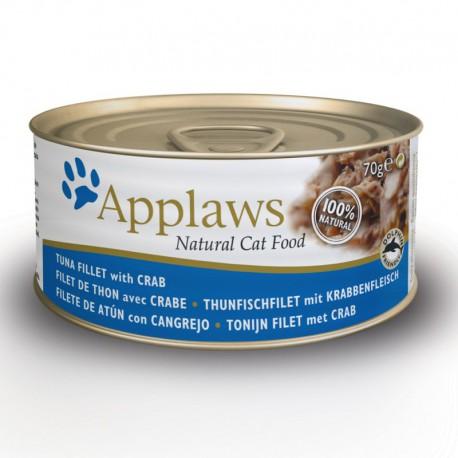 Applaws Filet z Tuńczyka z Krabem 70g