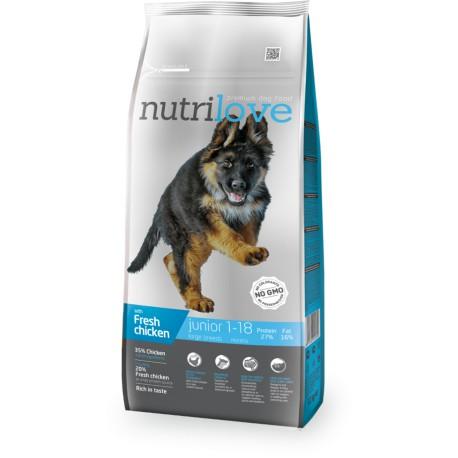 Nutrilove Junior Large 12kg