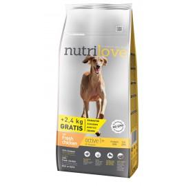 Nutrilove Active 12kg + 2,4KG GRATIS