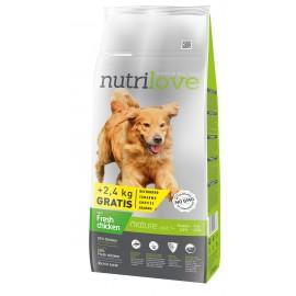 Nutrilove Mature 12kg + 2,4KG GRATIS