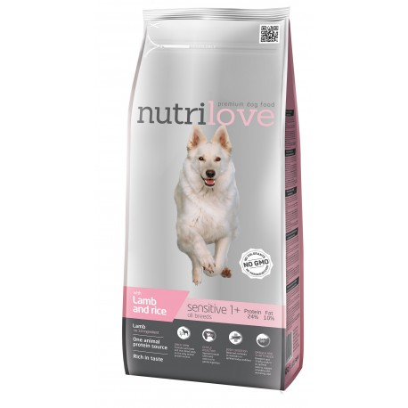 Nutrilove Sensitive Lamb 12kg