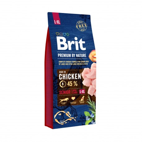 Brit Senior L - XL 2 x 15kg - (psy 25-90kg)