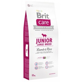 Brit Care Junior Large Breed Lamb Rice 12kg