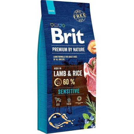 Brit Lamb Rice 2 x 15kg