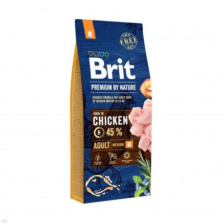 Brit Adult M 15KG  - (psy 10-25kg)