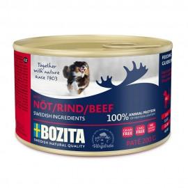Bozita Wołowina karma dla psa w puszkach 200g