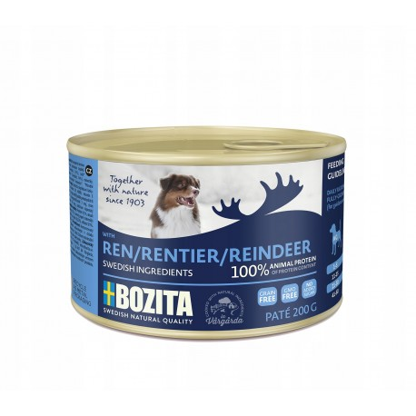 Bozita Renifer karma dla psa w puszkach 200g