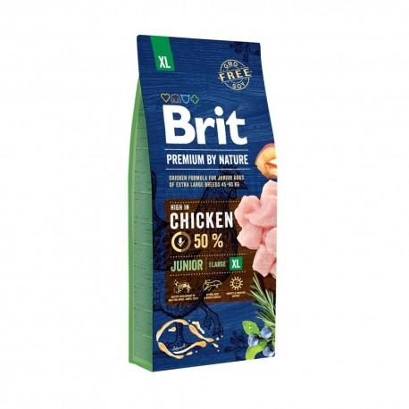 Brit Junior XL 2 x 15kg - (psy powyżej 45kg)