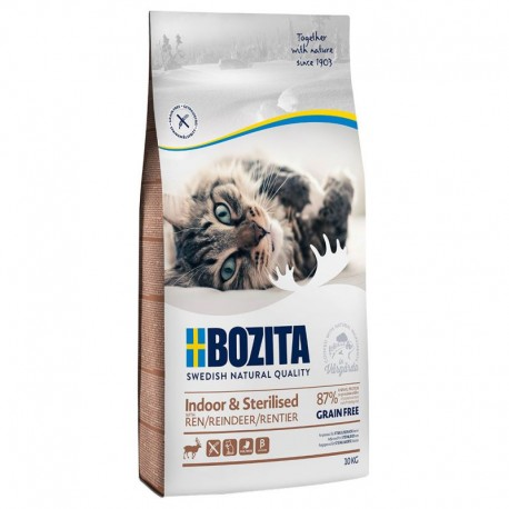 Bozita Indoor Sterilised z Reniferem 10kg