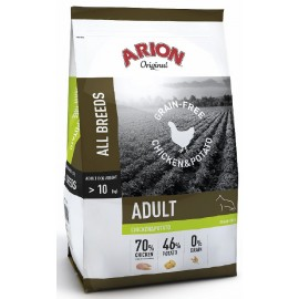 Arion Original Grain Free Chicken Potato 12kg