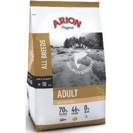 Arion Original Grain Free Salmon Potato 12kg