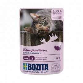 Bozita saszetki dla kota z indykiem 85g