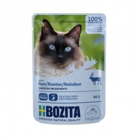 Bozita saszetki dla kota z reniferem 85g