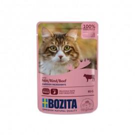 Bozita saszetki dla kota z wołowiną 85g