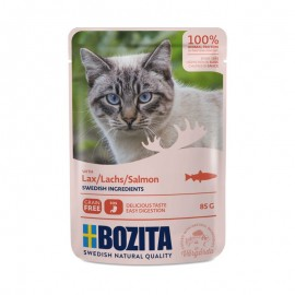 Bozita saszetki dla kota z łososiem 85g