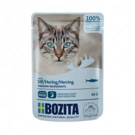 Bozita saszetki dla kota ze śledziem 85g