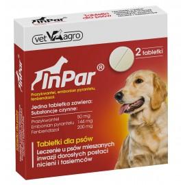 Inpar dla psa - 2 tabletki