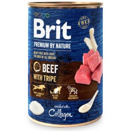 Brit Premium By Nature Beef With Tripe 400g