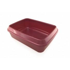 Kuweta plastikowa - kolor brązowy